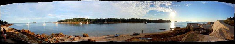 Panorama Harbor Island