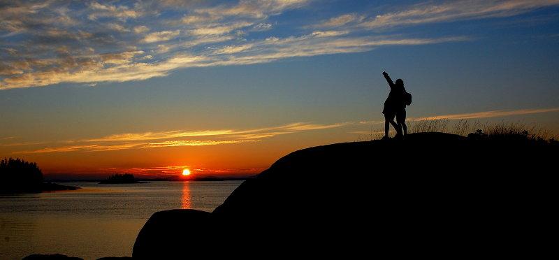 Kids & Sunsets