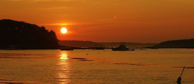 Sunset - Casco Bay
