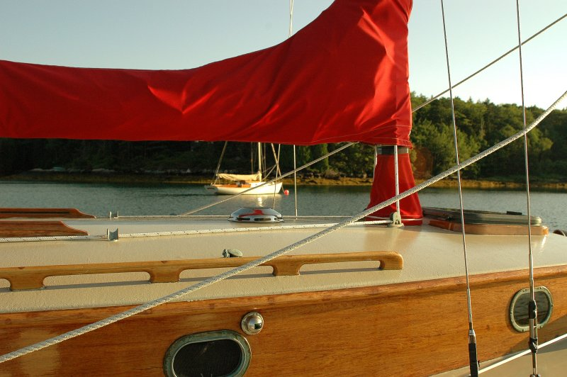 The Red & White Sloop - 3