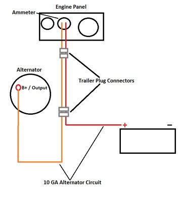 Diesel Engine Wiring on marine wiring harness