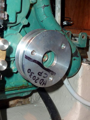 Install The New Crank Pulley