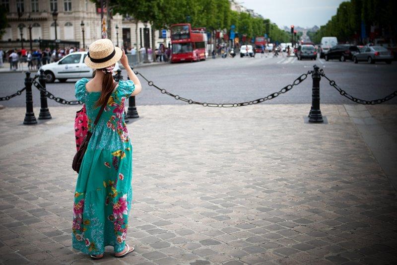 Photographing the Champs-Élysées
