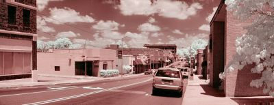 Downtown Infrared Panorama