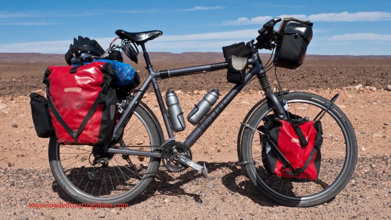362    Matthew - Touring Morocco - Cannondale Touring Ultra touring bike