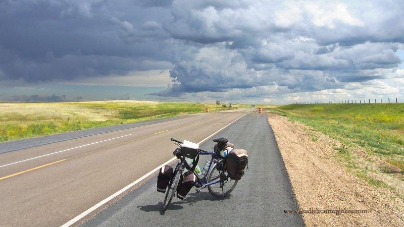 386   Robert touring Montana - Van Herwerden Roadmaster Twenty 8 touring bike