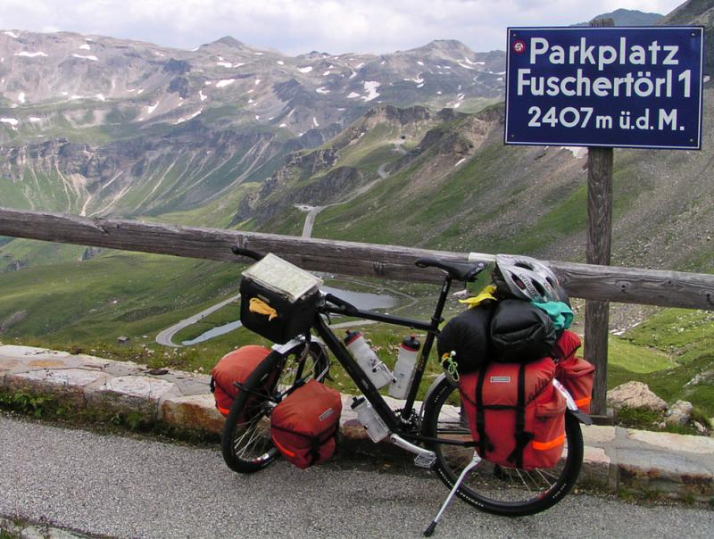 049  Poul - Touring Austria - Koga Worldtraveller touring bike