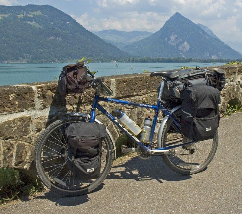 070  Chaowen - Touring through Switzerland - KHS Montana Tour touring bike