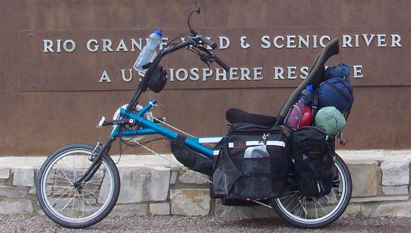 078  James - Touring Texas USA - Cycle Genius CGX touring bike