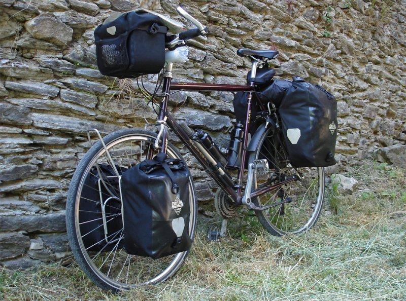 093  Koen - Touring through France - Koga Terraliner touring bike
