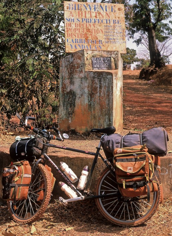 249  Doug - Touring Guinea - Rocky Mountain Bicycles Route 66 touring bike