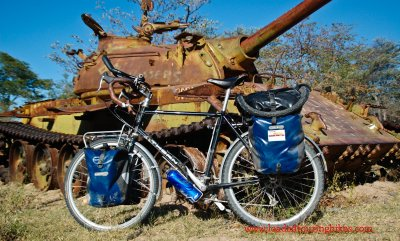 363    Adam - Touring Angola - Thorn Nomad touring bike