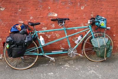 054  Alex & Jake - Touring England - Peugeot Cyclo Tourisme touring bike