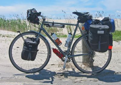 076  Phil - Touring through North Carolina USA - True North Touring touring bike