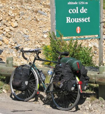 079  Alan - Touring France - Dawes Super Galaxy touring bike