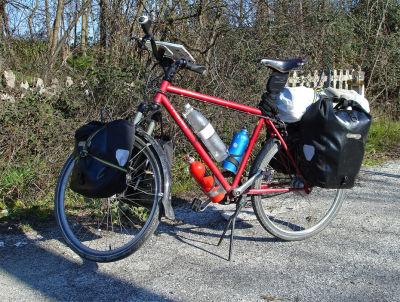 080  Stijn - Touring Italy - Thorn Raven touring bike