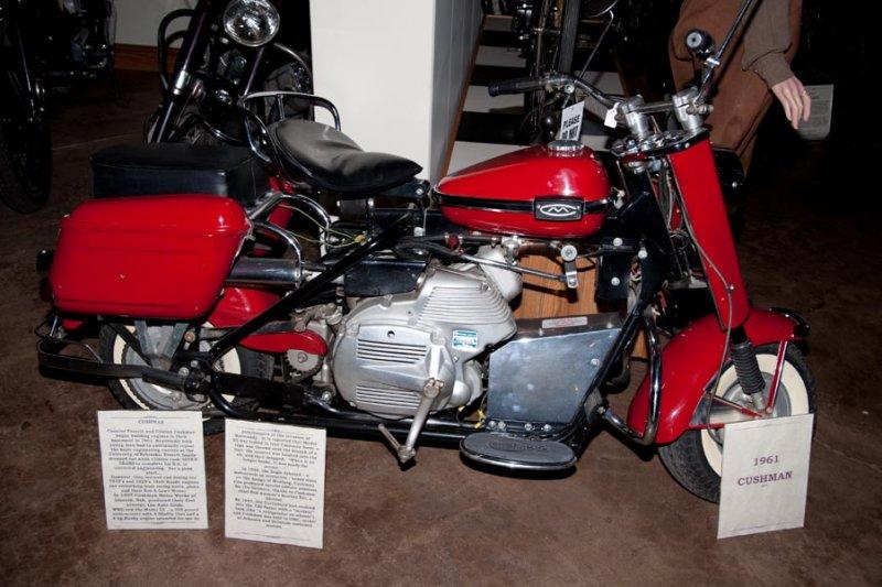 1961 Cushman Eagle Scooter
