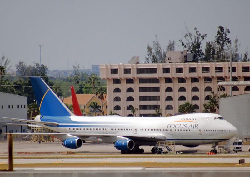 N362FC Focus Air Boeing 747-200