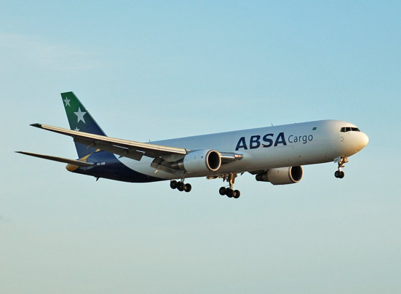 just added PR-ABB ABSA Cargo Boeing 767-300F