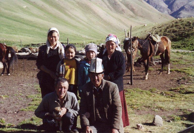 Family of shepherds