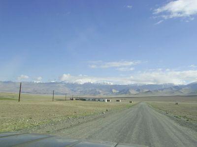Heading North towards Kyrgyzstan