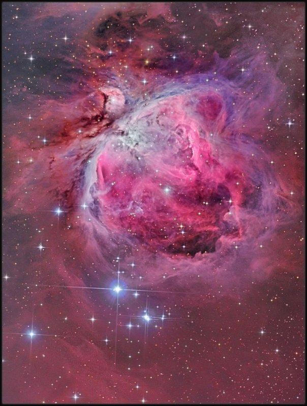 The Great Orion nebula