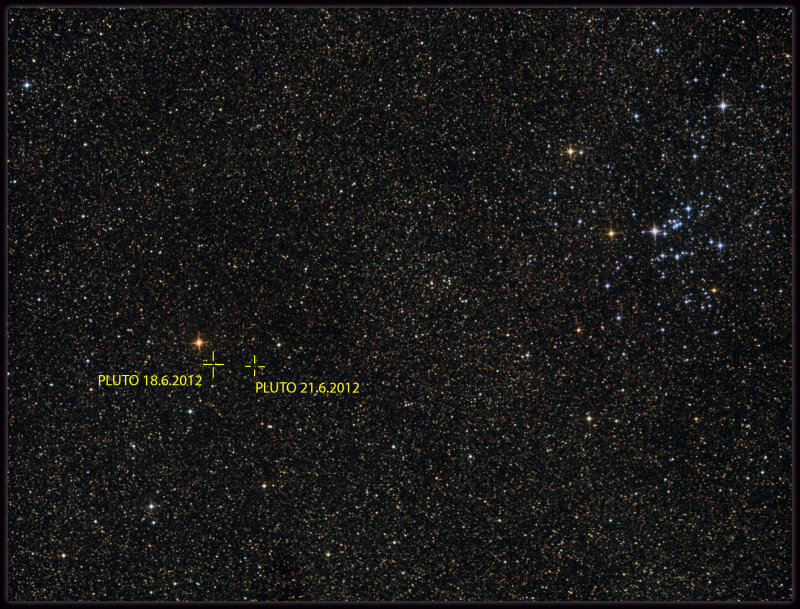 Pluto and M25