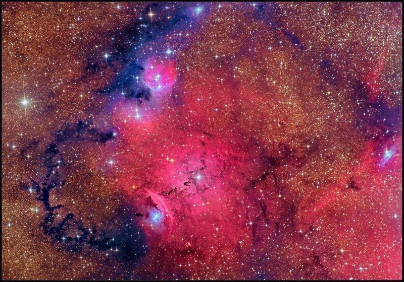 NGC 6559 & friends
