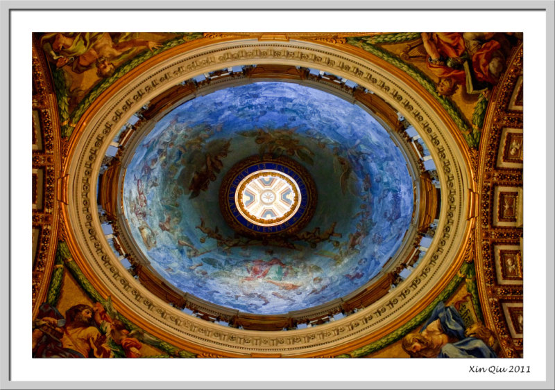 Ceiling of St. Peters Basilica