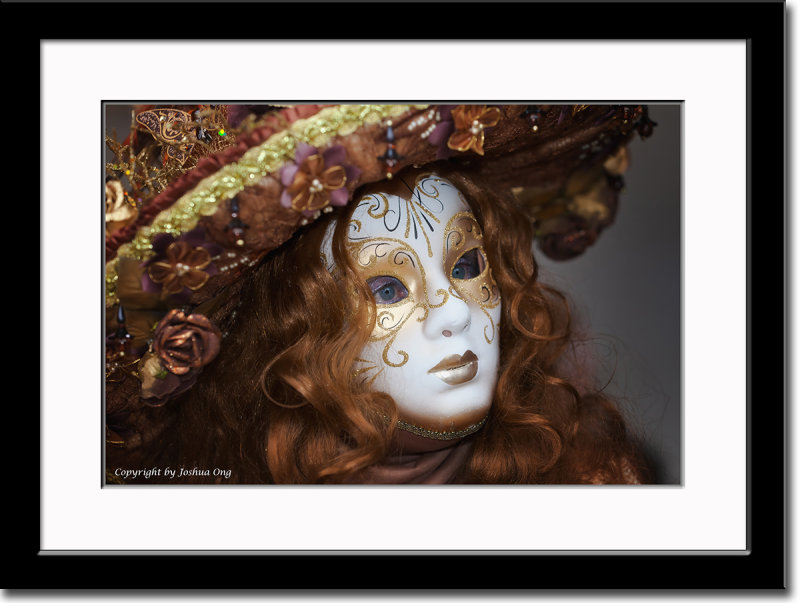 Golden Brown Mask