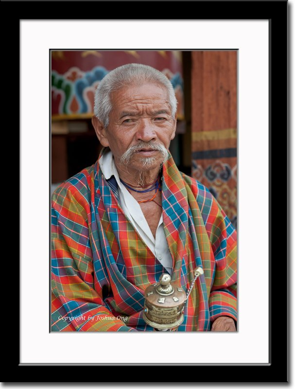 An Elderly Pilgrim