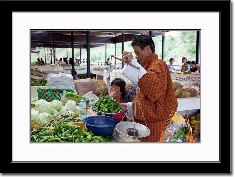 Market in Thimphu