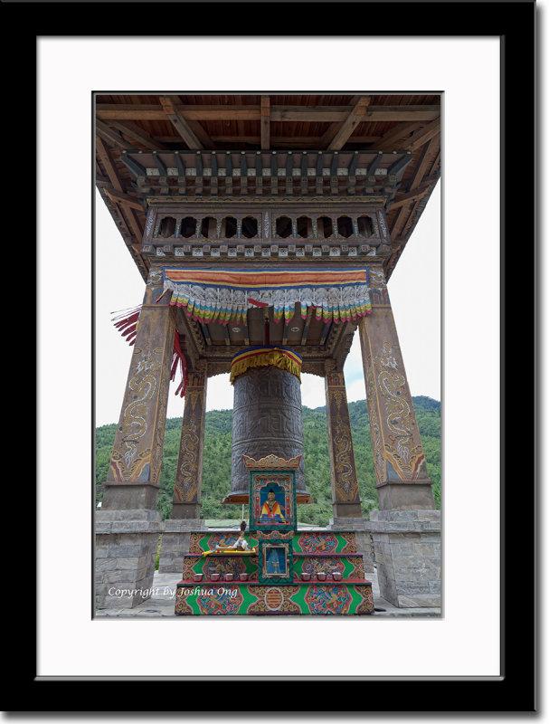 Shrine at Taj Tashi Hotel