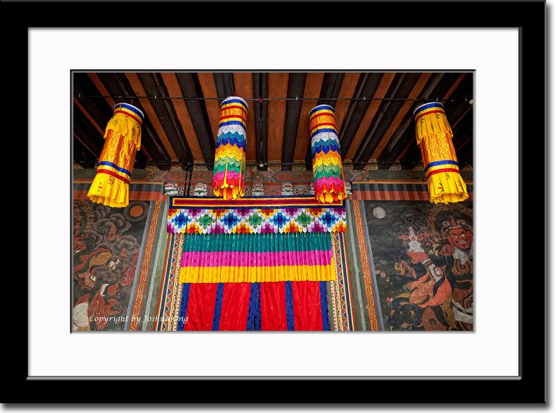 Entrance at Simthoka Dzong