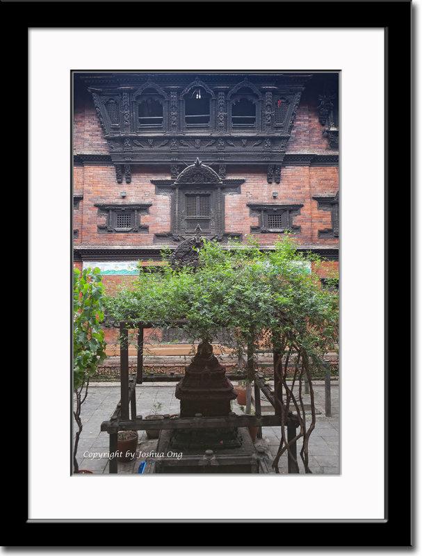 The Balcony of Kumari Ghar, the Palace of the Living Goddess