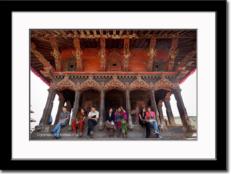 Temple at Durbar Square