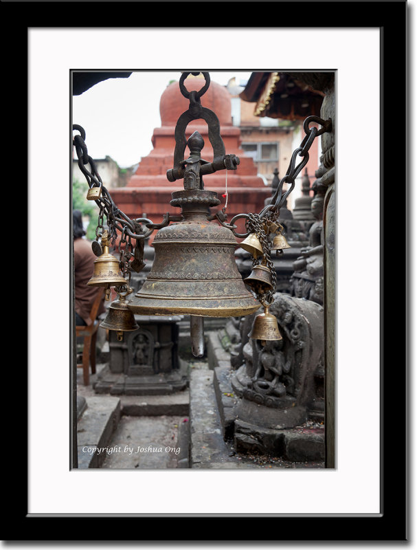 Bell at Swayambhunath Temple
