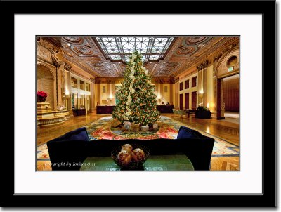 The Lobby of the Millennium Biltmore Hotel