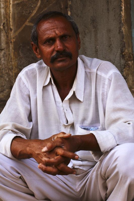 Man in white Jamnagar.jpg