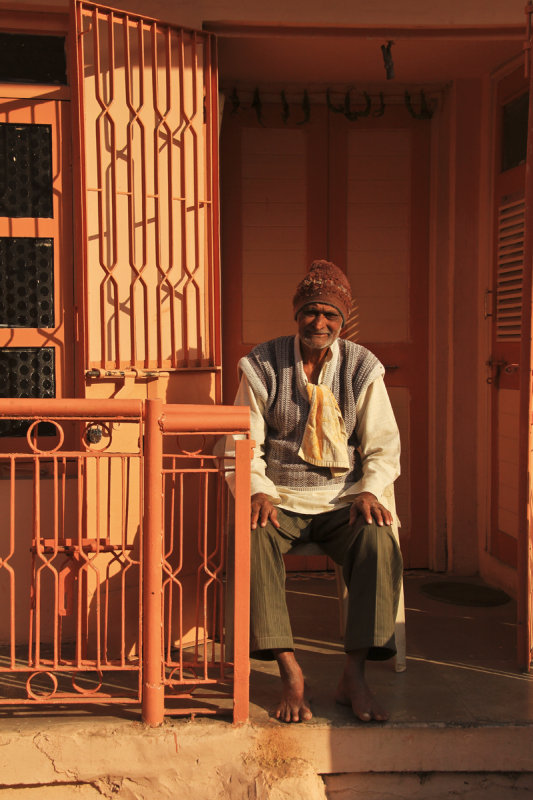 Patan man against orange.jpg