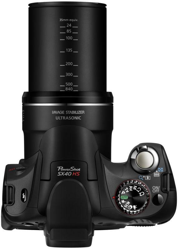 PowerShot SX40 HS TOP LENS EXT