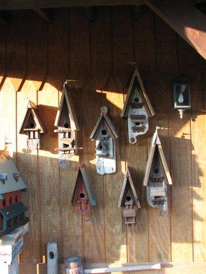 Birdhouse Wall