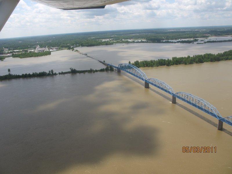 Brookport Bridge - by Jerry Chumbler