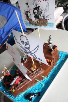 Gradys Birthday Cake