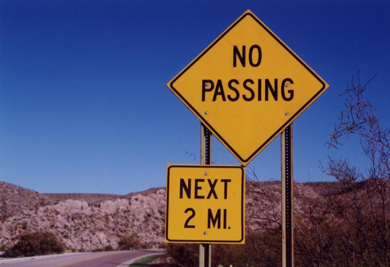 No Passing (White City, NM)