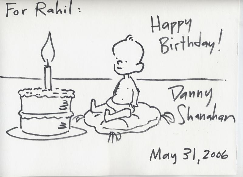 Birthday Card for Rahil (2006)