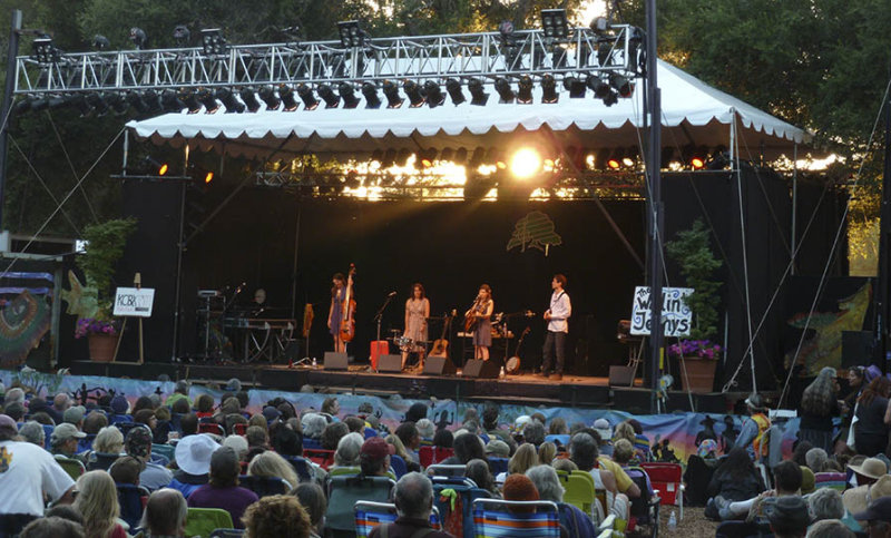 The Wailin Jennys at Main Stage Sunday evening