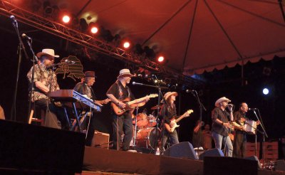 The Texas Tornadoes at Main Stage on Saturday night