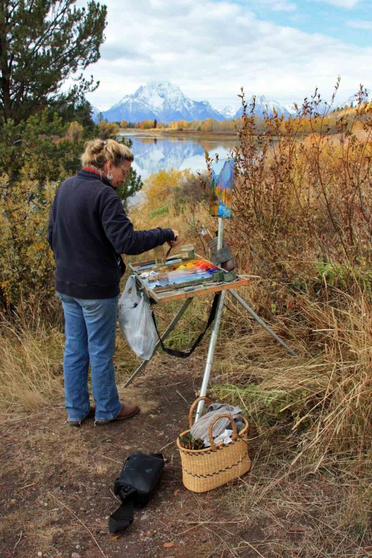 IMG_0077 Painter at Oxbow Bend
