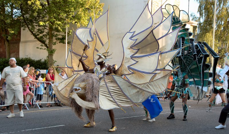 Guests from the Notting Hill Carnival London